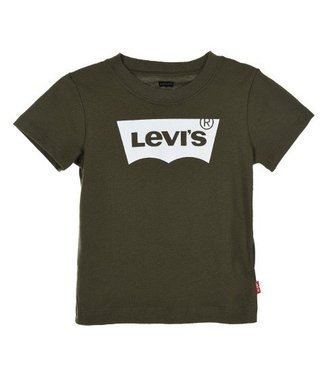Levi's Levi's shirt Olive night met wit logo 8157-E3V