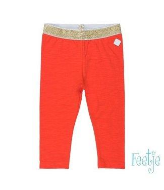 Feetje Feetje Funbird legging 7/8 rood 522.01455
