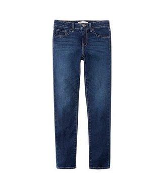 Levi's Levi's Girls jeans 710 super skinny blue asphalt NP22507