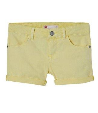 Levi's Levi's girls korte broek geel n26577