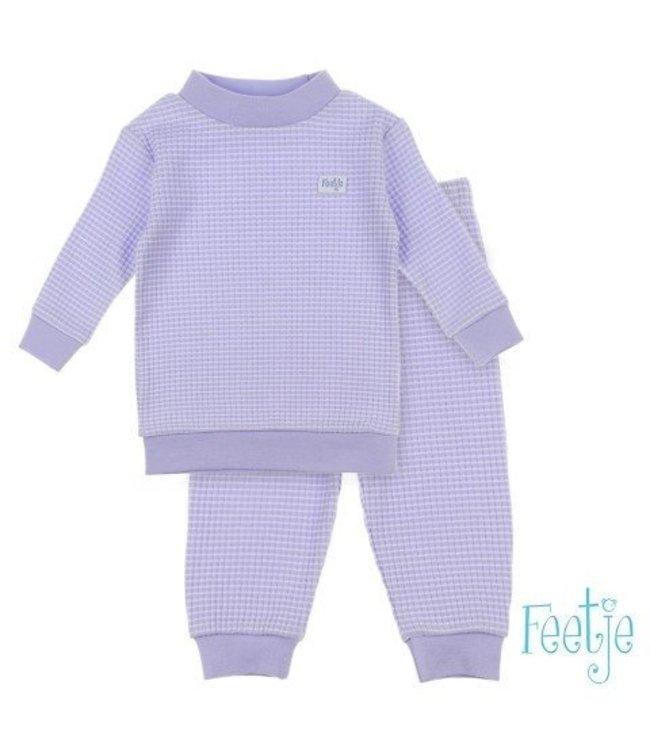 Feetje Feetje Pyjama wafel Autumn special Lila 305.532