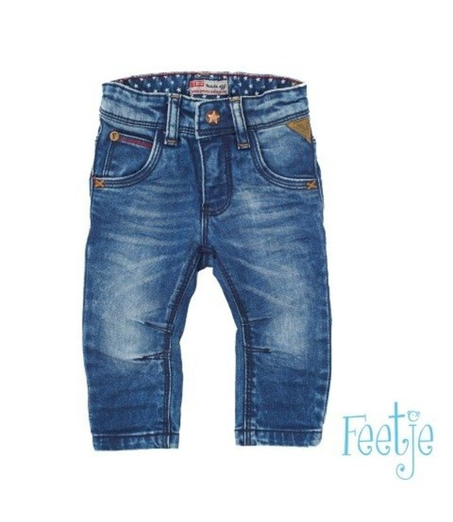 Feetje Feetje NOS boys jeans marble wash blue denim 522.00699