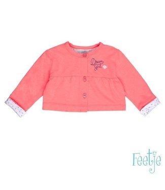 Feetje Feetje girls bolero roze Bisou for you 513.00309