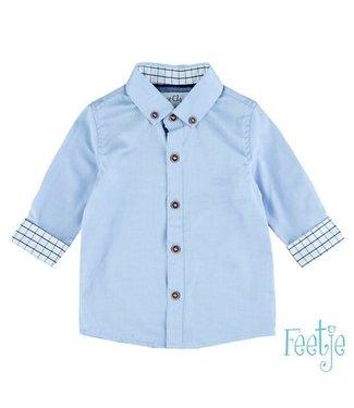Feetje Feetje Overhemd classic boys blauw 62-104 523.00026