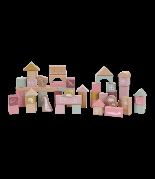Little Dutch Little dutch Bouwblokken pink