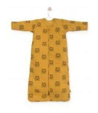 Jollein Jollein Slaapzak Tiger Mustard met afritsbare mouw