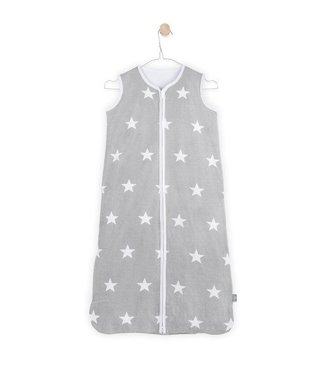 Jollein Jollein Slaapzak zomer 90cm little star grey