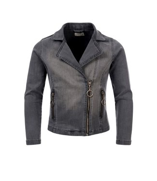 LOOXS 10Sixteen biker jacket soft grey 2111-5239-73
