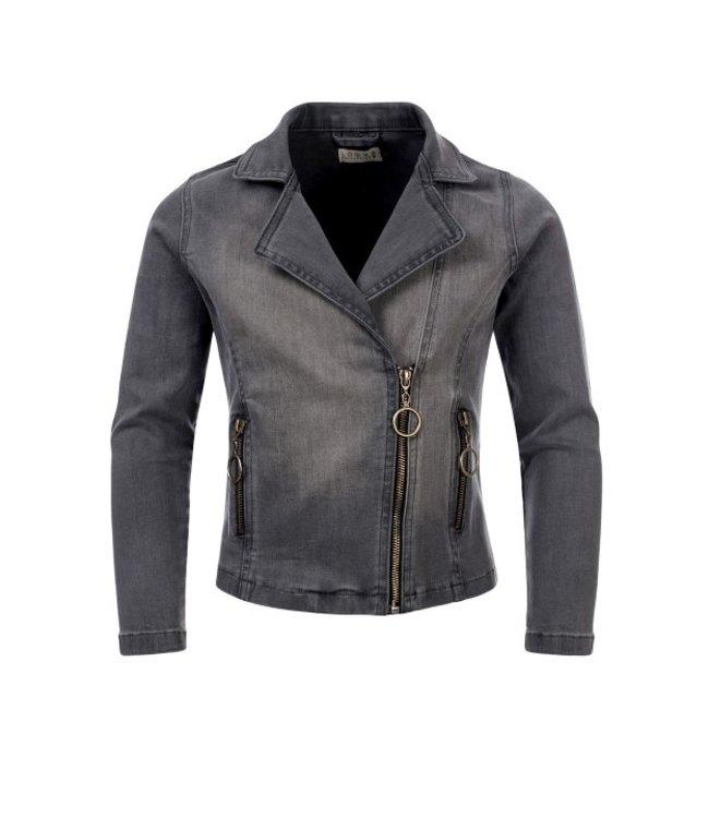 LOOXS 10Sixteen biker jacket soft grey 2111-5239-73