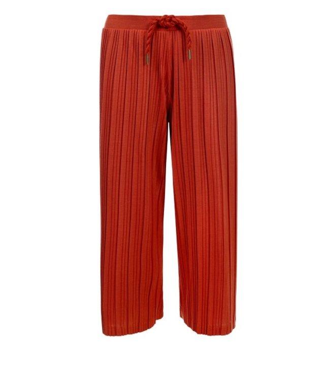 LOOXS 10Sixteen Wide leg plisse pants TERRA 2111-5611-405