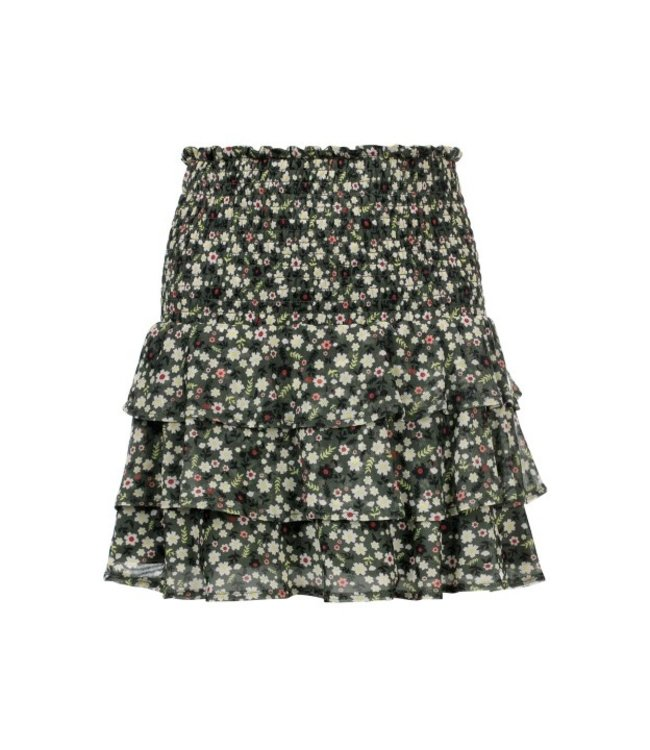 LOOXS 10Sixteen Printed mesh skirt FORREST BLOSSOM 2111-5704-91