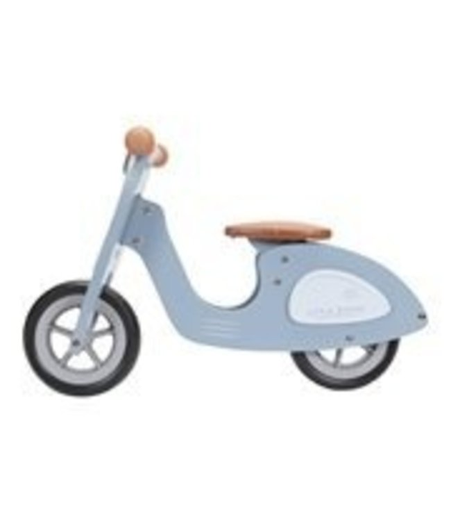 Little Dutch Little dutch loop Scooter hout blue