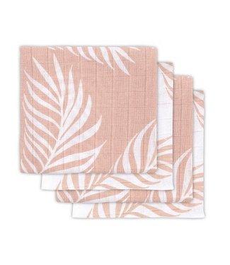 Jollein Jollein Hydrofiel multidoek small 70x70cm Nature pale pink (4pack)