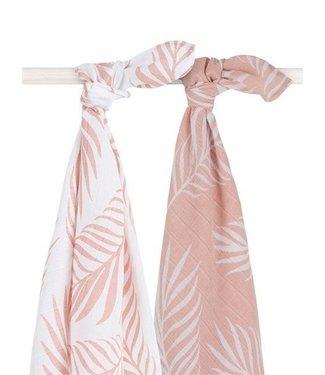 Jollein Jollein Hydrofiel multidoek large 115x115cm Nature pale pink (2pack)