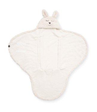Jollein Jollein Wikkeldeken bunny off white