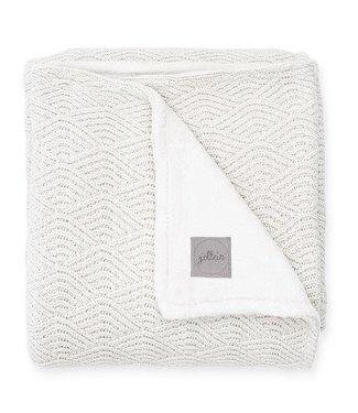 Jollein Jollein deken 100x150cm river knit cream white