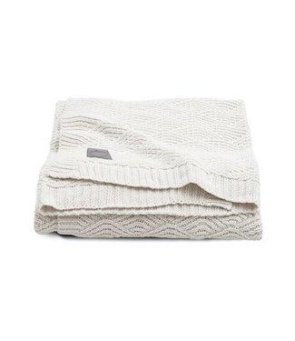 Jollein Jollein deken 75x100cm river knit cream white