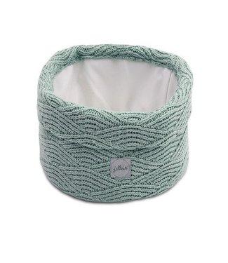 Jollein Jollein Mandje river knit ash green 580-001-65285