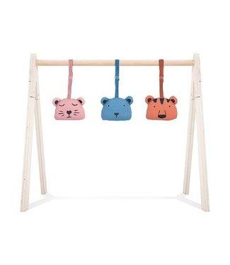 Jollein Jollein Babygym toys Animal club Rouge (4pcs)