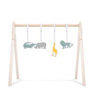 Jollein Jollein Babygym toys Safari (4pcs)