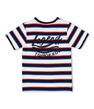 Sturdy T-shirt streep - Playground 71700303