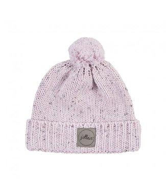 Jollein Jollein Muts Confetti knit vintage pink