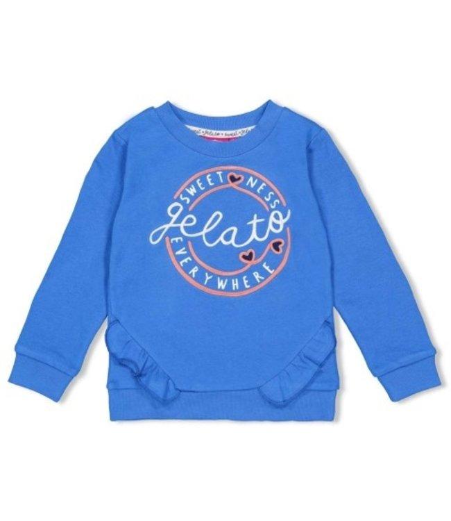Jubel Jubel Sweater ruches - Sweet Gelato 91600275