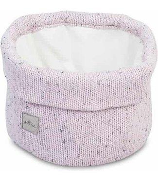 Jollein Jollein Boxopbergzak Confetti knit vintage pink