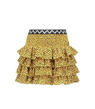Like Flo Flo girls AO woven smock ruffle skirt F102-5720