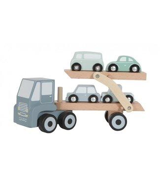 Little Dutch Little Dutch Houten transportwagen blue LD 4453