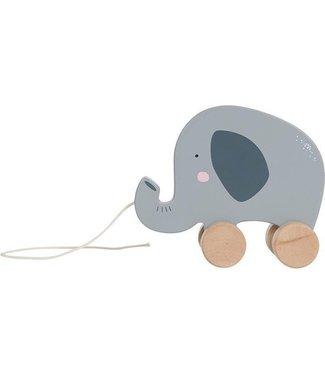 Little Dutch Little Dutch Houten trekdier olifant