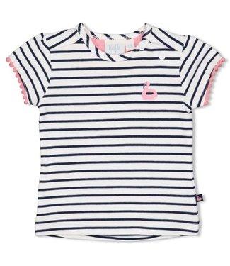 Feetje Feetje T-shirt streep - Seaside Kisses 51700604