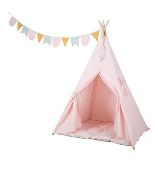 Little Dutch Little Dutch Tipi tent roze