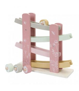Little Dutch Little Dutch houten autobaan pink