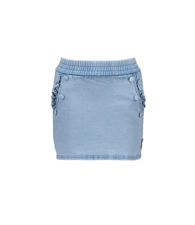 B.Nosy Bnosy  Girls denim skirt with button detail at front pockets Y102-5723