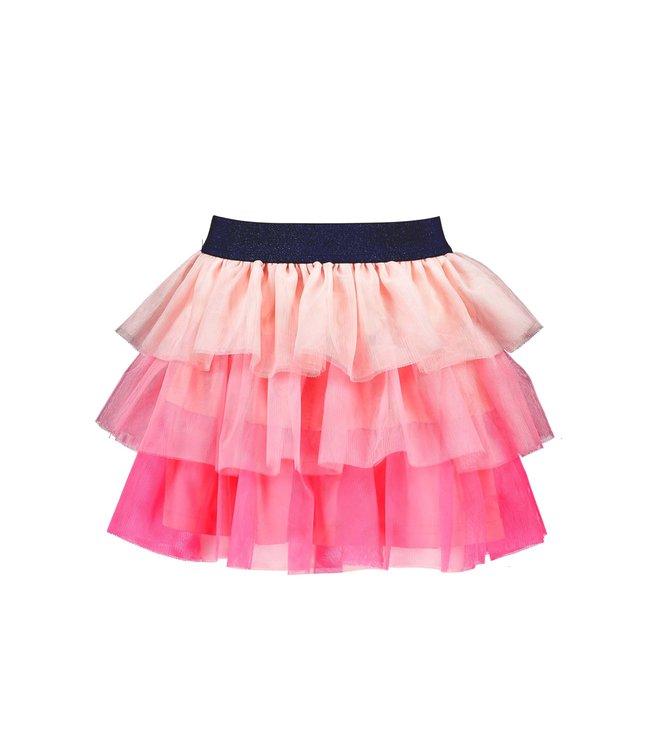 B.Nosy Bnosy  Girls layered mesh skirt Festival pink Y102-5732 290