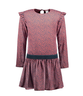 B.Nosy Bnosy Girls mix dots aop woven dress Y102-5821