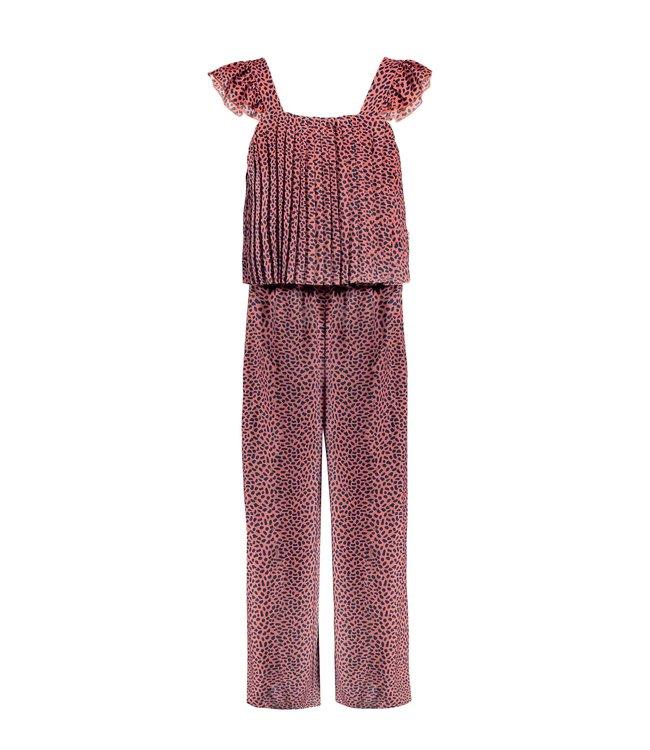 B.Nosy Bnosy Girls mix dots aop jumpsuit with plissé Y102-5621