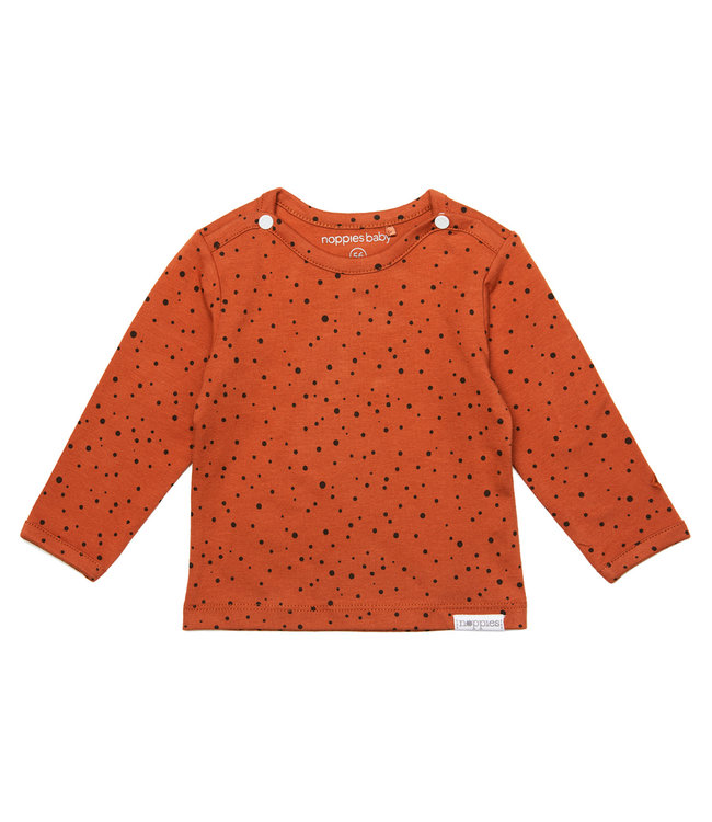 Noppies Noppies NOS U shirt Kris spicy ginger