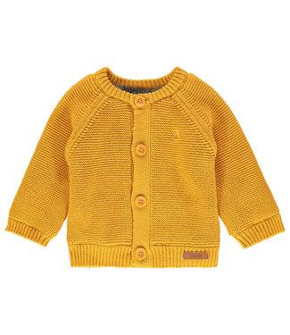 Noppies Noppies NOS cardigan teddy gevoerd yellow
