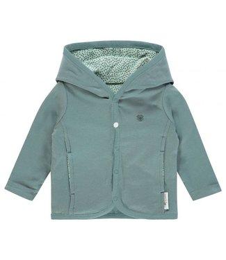 Noppies Noppies NOS cardigan reversable grey mint