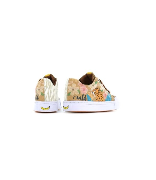 Shoesme Go banana's gympen leopard
