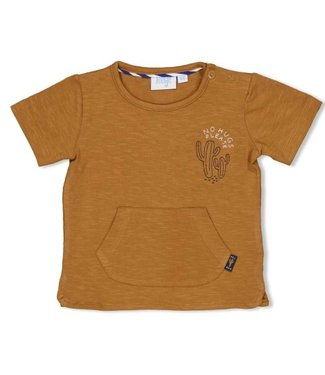 Feetje Feetje T-shirt Chill On camel  - Looking Sharp 51700616