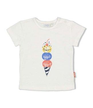 Feetje Feetje T-shirt - Sweet Gelato Offwhite 51700626
