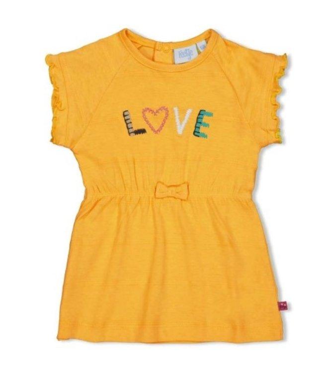 Feetje Feetje geel Jurk Love - Little Thing Called Love 51400358