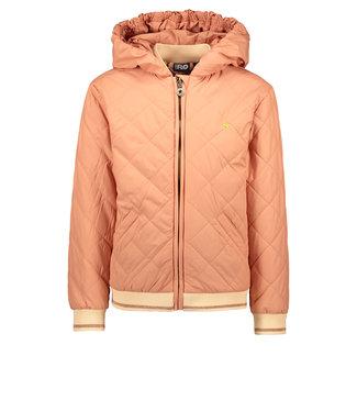 Like Flo Flo girls hooded summer jacket blush f102-5200 205