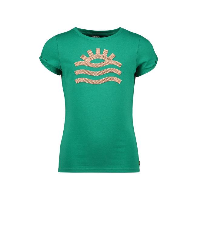 Like Flo Flo girls tee open shoulder roll divers F102-5447 300