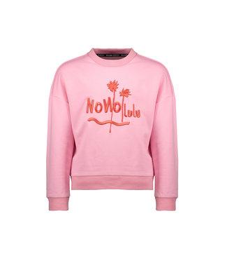 NoNo Nono Kessa drop shoulder long sleeve with NONOLULU/ Simply artwork N102-5300