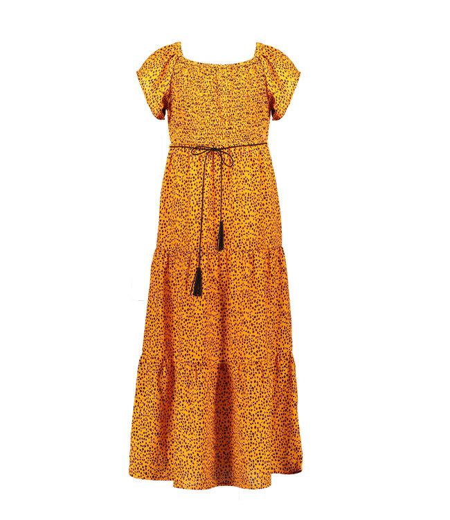 NoNo Nono Malia ss maxi dress in Pebblestone aop N102-5805
