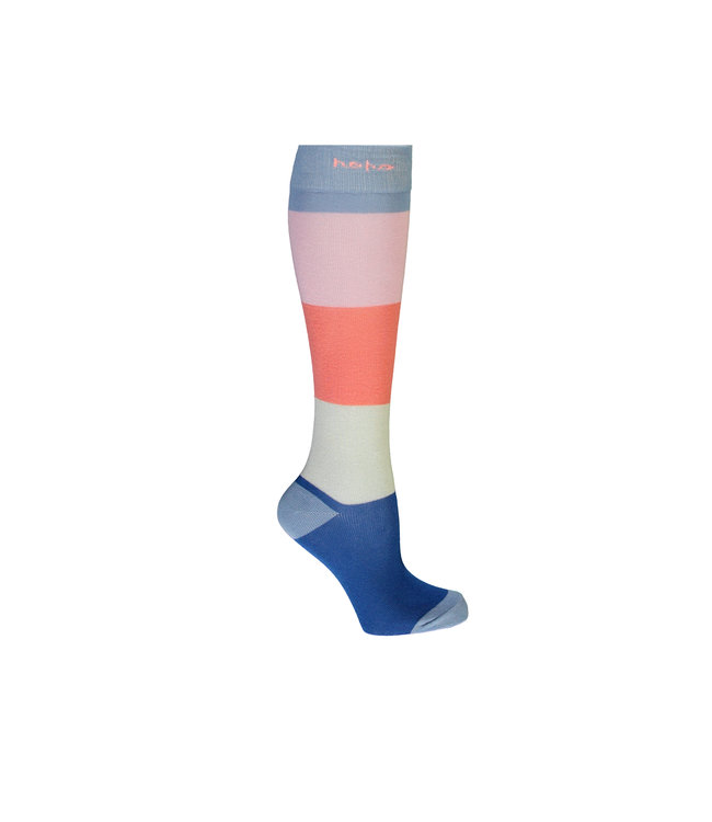 NoNo Nono Rae long sock colorblock N102-5903